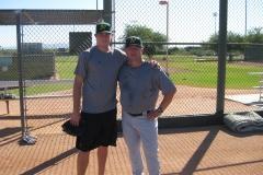Trevor Cahill en Eric Arizona Fall League